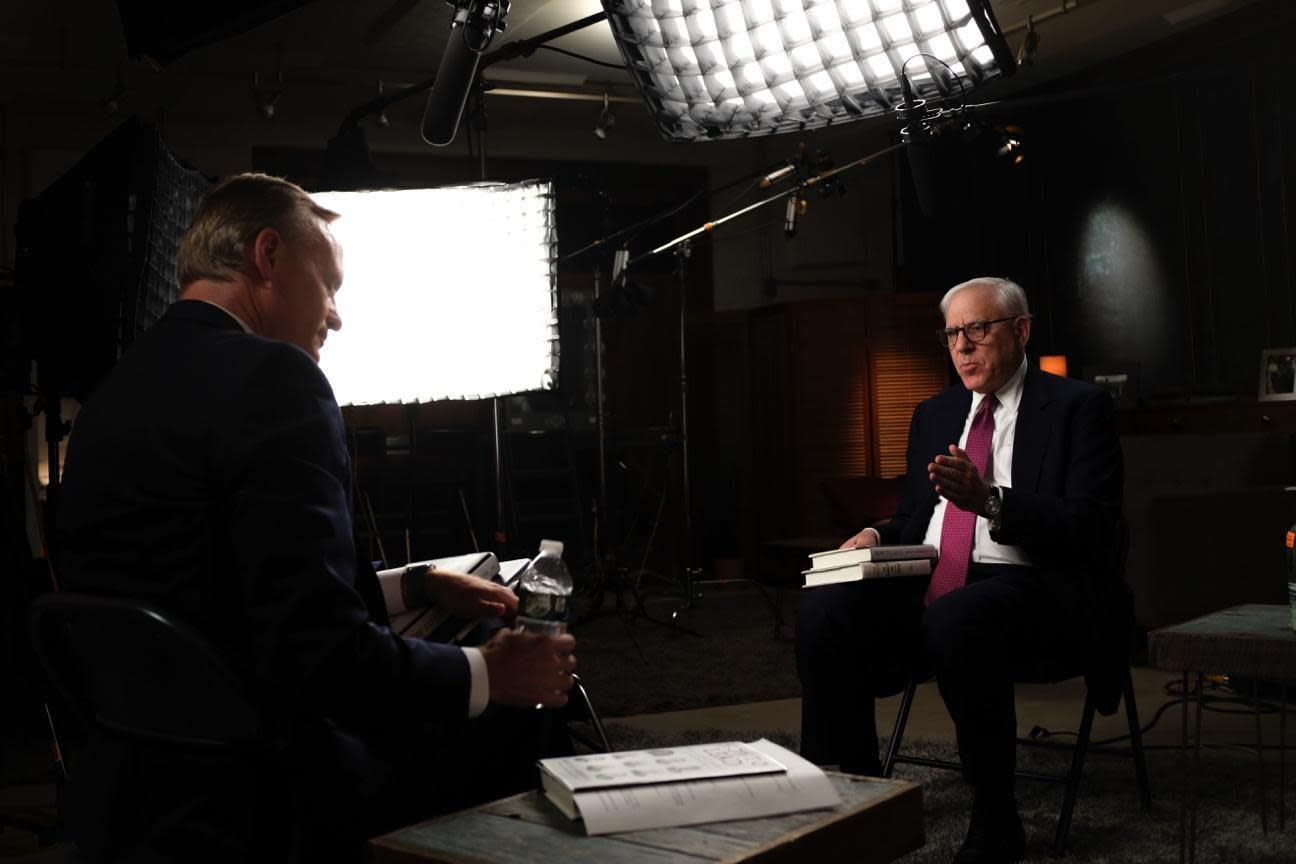 "Transcript: David Rubenstein on ""Face the Nation"""