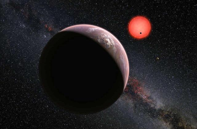 Three Earth-sized planets exist in the Aquarius constellation