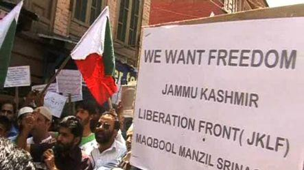 JKLF chief, 15 activists detained