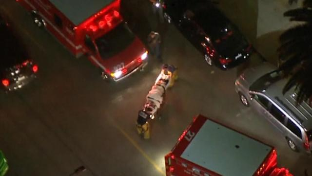 Person falls from balcony at Blink 182 concert