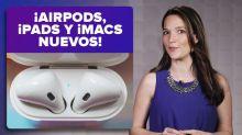 Nuevos AirPods, iPad Mini, iPad Air y iMacs actualizadas