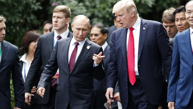 Putin's election win earns him a Trump call