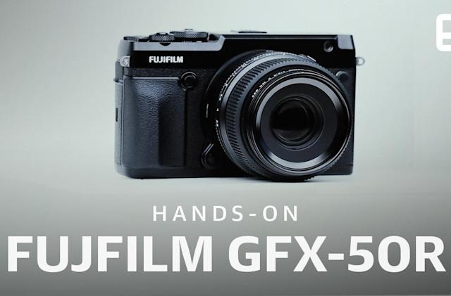 A closer look at Fujifilm's GFX 50R and GFX 100 medium format cameras