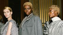 The Geek-Chic Comb-Over Gets a 24-Karat Makeover on the Thom Browne Runway
