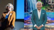 """Jorge Javier Vázquez hace campaña con Manuela Carmena en los pasillos de Mediaset: """"Te voy a volver a votar"""""""