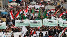 Death toll climbs in Iraq protest attack as cleric cautions against foreign meddling