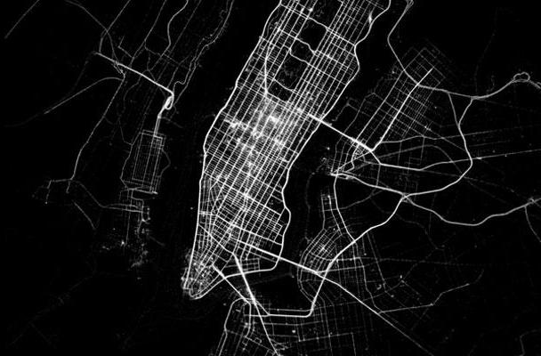 Watch this: Human transforms its app data into striking activity maps