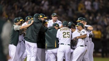 Athletics success story continues with clinch of AL's final postseason berth