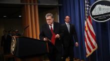 美國司法部長巴爾:穆勒發現川普可能妨礙司法的10個情形