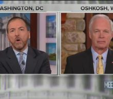 Chuck Todd Confronts GOP Senator: You Blame 'Everybody' but Trump on Ukraine Scandal