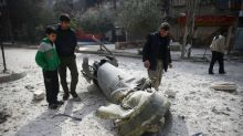 Rescuers say cannot keep up with air strikes battering Syria's Ghouta