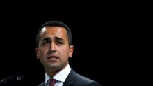 Italy's Di Maio rules out euro exit, denounces scaremongering