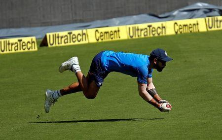 Cricket - India v Australia - India team practice session