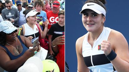 Teen shocks tennis world with insane comeback
