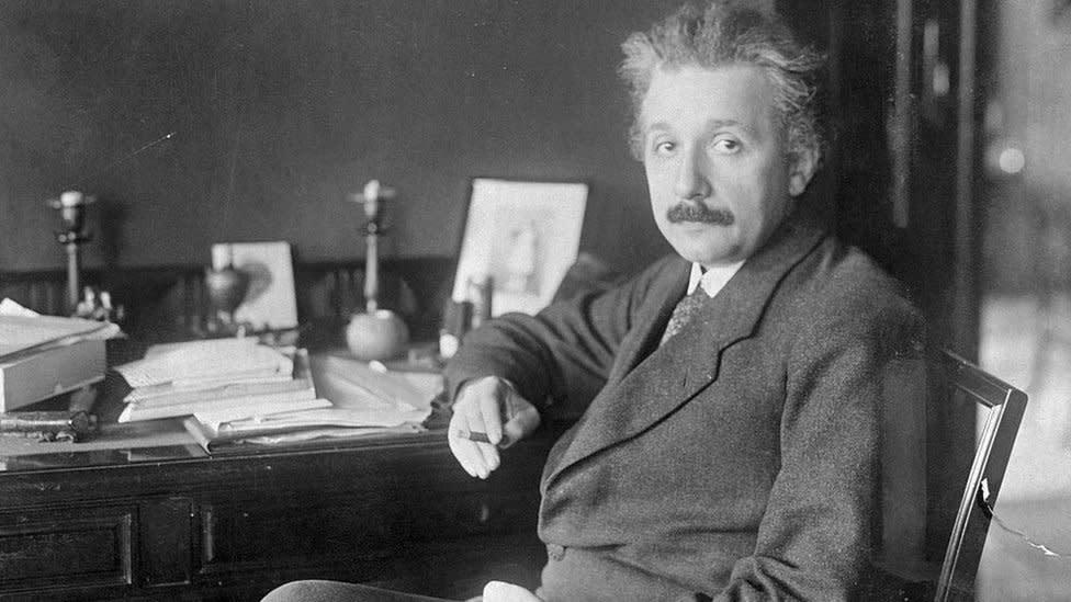 Einstein handwritten letter with E=mc2 equation auctioned