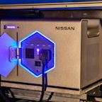 Nissan gives EV batteries a second life powering camping trailers