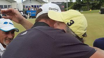 Why PGA golfer hugged fan who yelled in backswing