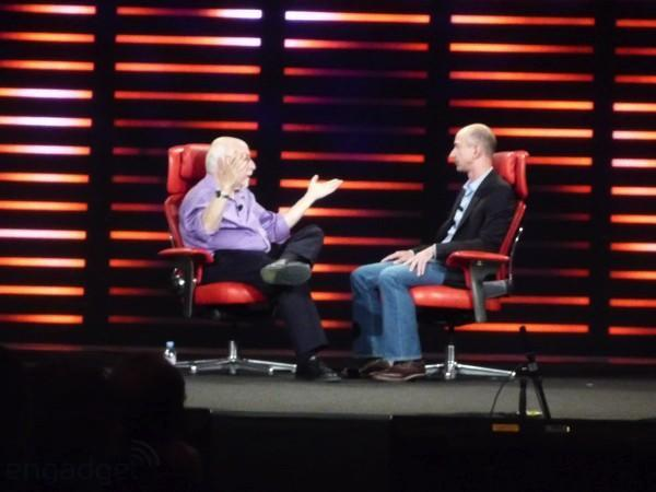 """Bezos: second Kindle is """"not that near,"""" Amazon to launch paid streaming VoD"""