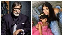 Amitabh Bachchan gushes over Bahurani Aishwarya and little Aaradhya in this cute pic