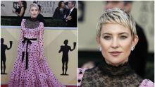 SAG Awards: Kate Hudson y otras famosas que no brillaron en la alfombra roja