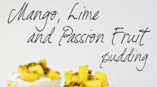 This Mango, Lime And Passion Fruit Pudding Will Bring Some Sunshine To Your Table