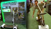 Surf the Earth with GolfBoard: A Golf Cart Revolution
