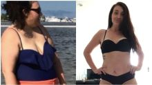 Single mum's divorce sparked incredible 66kg weight loss