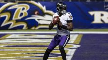 John Harbaugh stands by decision to play Lamar Jackson late in blowout win against Browns