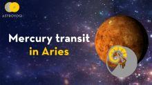 Transit of Mercury in Aries