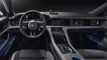 Porsche streamlines the Taycan EV's infotainment system