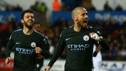 Silva shines as City power to record 15th successive win