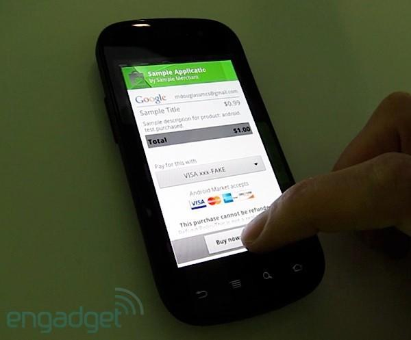 Android in-app purchases hands-on (video)