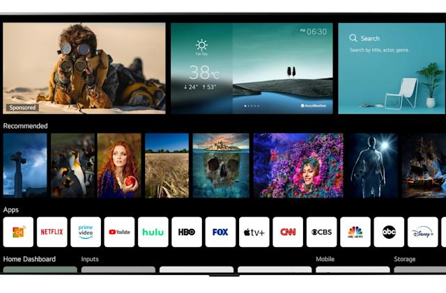 LG's webOS 6.0 smart TVs have a new UI, NFC-equipped remote