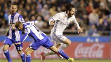 Madrid run riot to keep pace with Barcelona