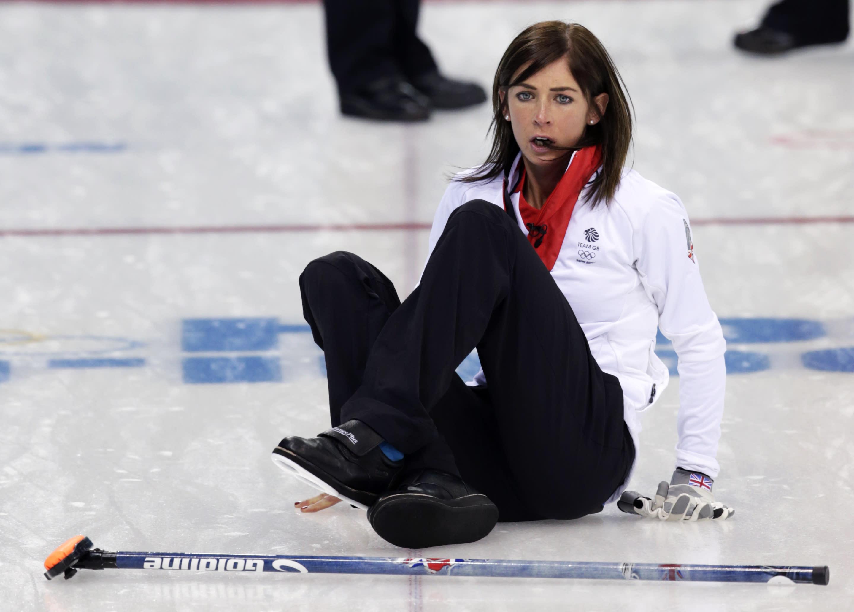 Womens curling