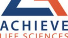 Achieve Announces Clinical Trial Supply and Cooperation Agreement with the University of Auckland for the Evaluation of Cytisine Compared to Varenicline for Smoking Cessation