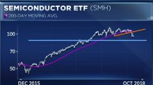 Chip stocks could plunge another 8 percent before hitting bottom, technician warns