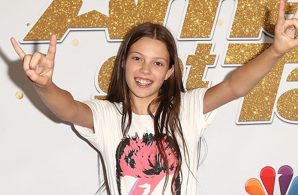 Courtney Hadwin 13 Year Old Golden Buzzer Winning