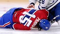 George Parros injury reignites fighting debate