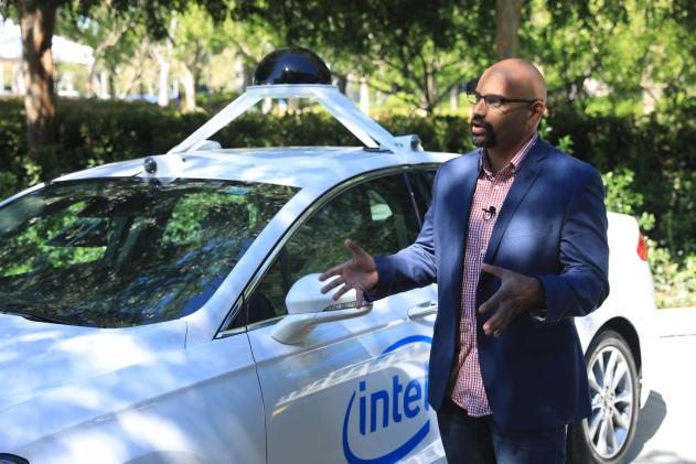 Intel plans a test fleet of 100 self-driving cars
