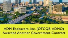 ADM Endeavors, Inc. (OTCQB: ADMQ) Awarded Another Government Contract For Fort Worth ISD