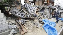 Strong quake near Osaka, Japan, kills 4, knocks over walls