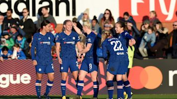 WSL round-up: Chelsea shock Arsenal, Liverpool win