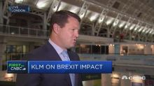 Hurricane Irma could have a 'dent' on demand: KLM CEO