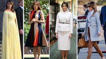 Melania Trump: tutti i look della visita in Europa