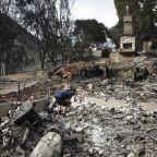 The Latest: Body found in burn zone of S. California fire