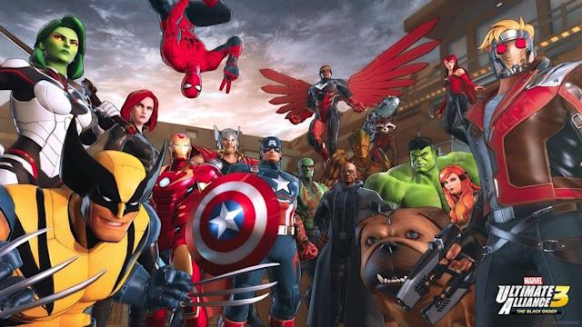 'Marvel Ultimate Alliance 3: The Black Order' is a Switch exclusive