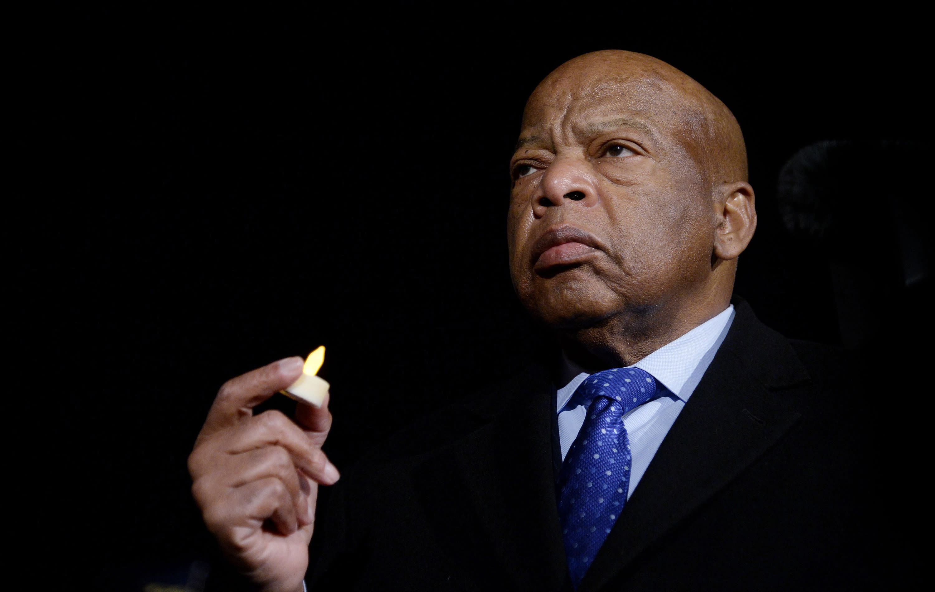 Trump pays tribute to John Lewis — after nearly daylong silence