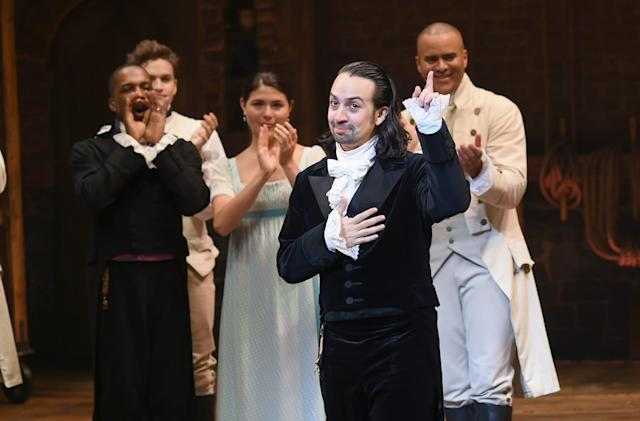 'Hamilton' creator Miranda joins the fight against ticket bots