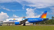 Allegiant unveils aircraft featuring unique Make-A-Wish® livery